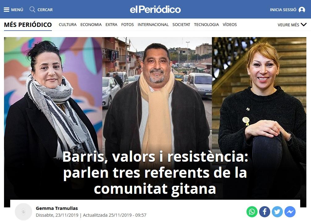 """Captura de la portada del suplement """"Més Periódico"""" d'""""El Periódico de Catalunya"""""""